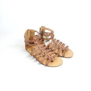 Bobbie Brooks Gladiator Sandals Girls 13